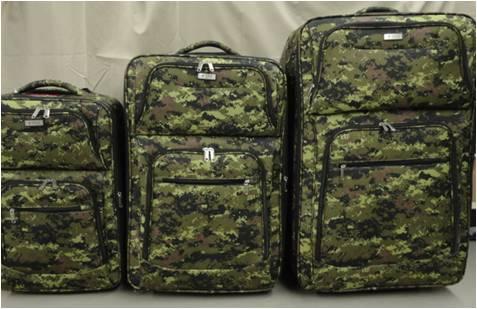Ensemble de 3 valises digitales
