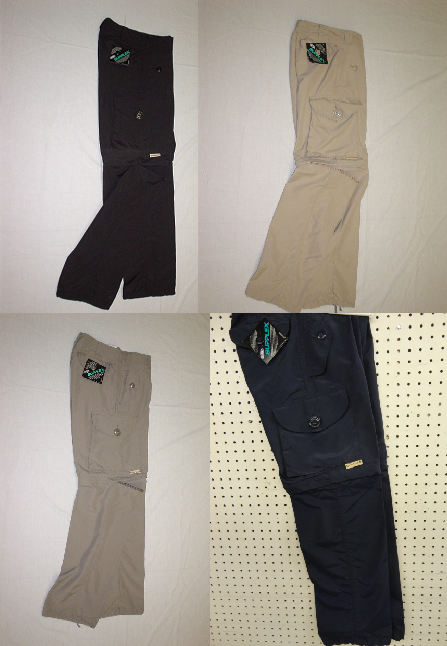 Pantalon 2 en 1 style canadien supplex