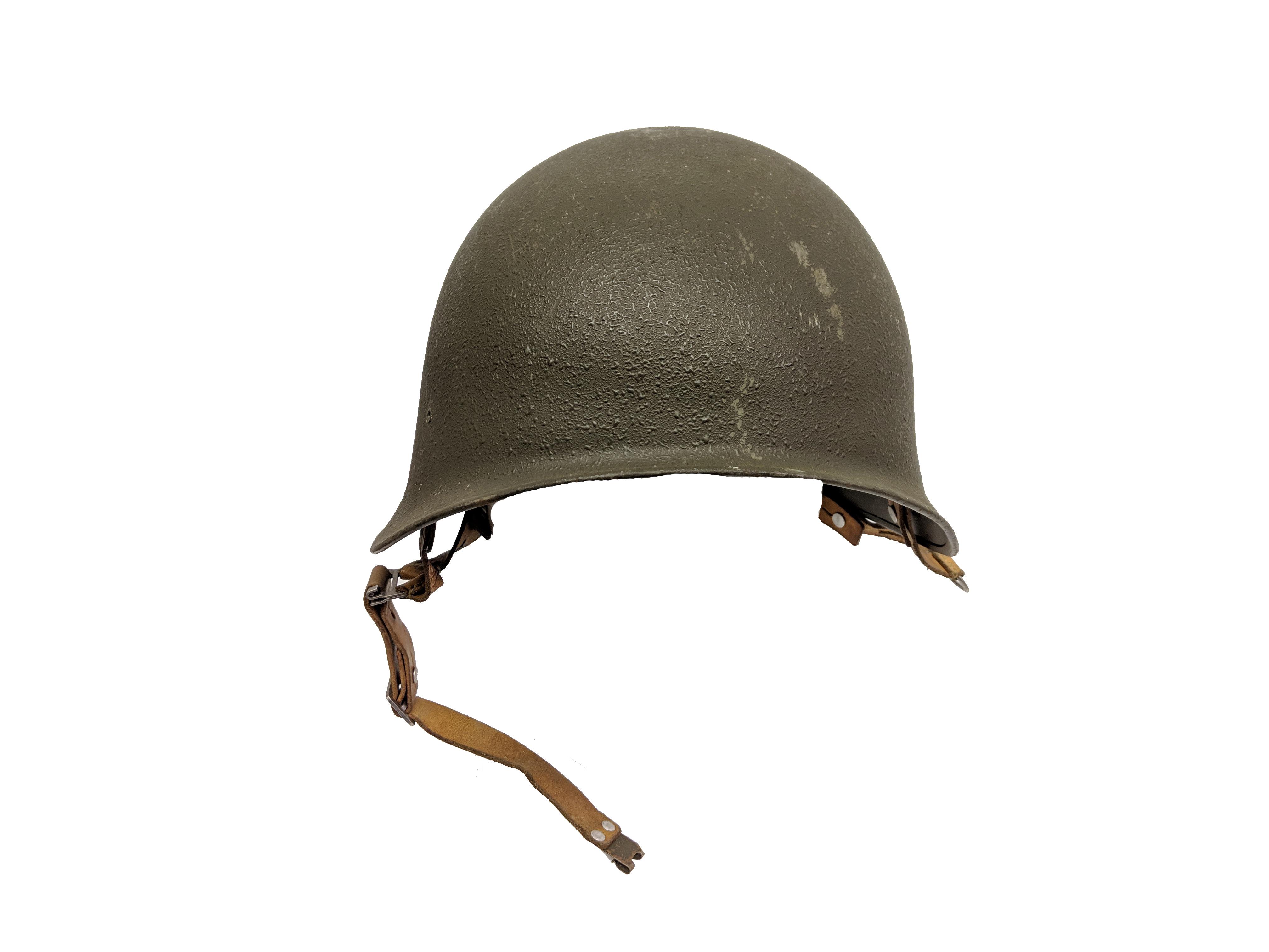 Vintage swiss helmet