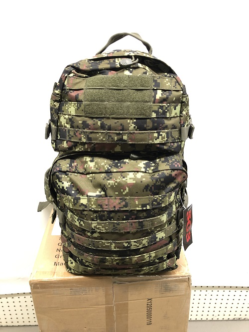 Large tactical assault pack
