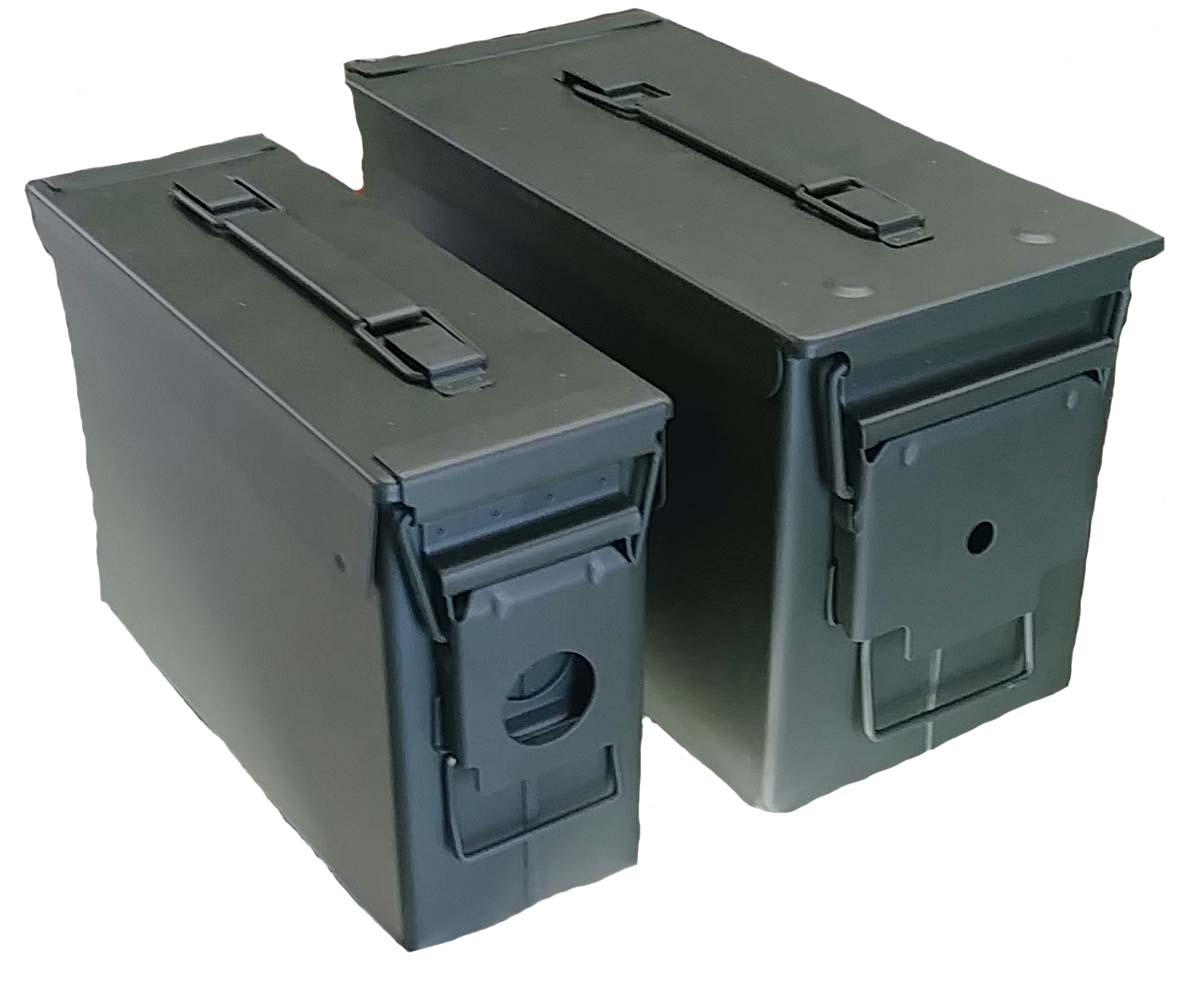 Set of two AMMO box .30 and .50