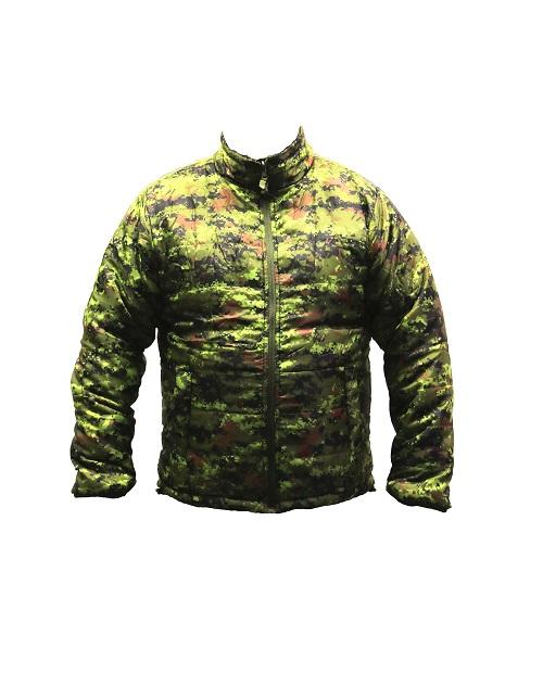 Reversible jacket / Canadian Digital-Olive drab
