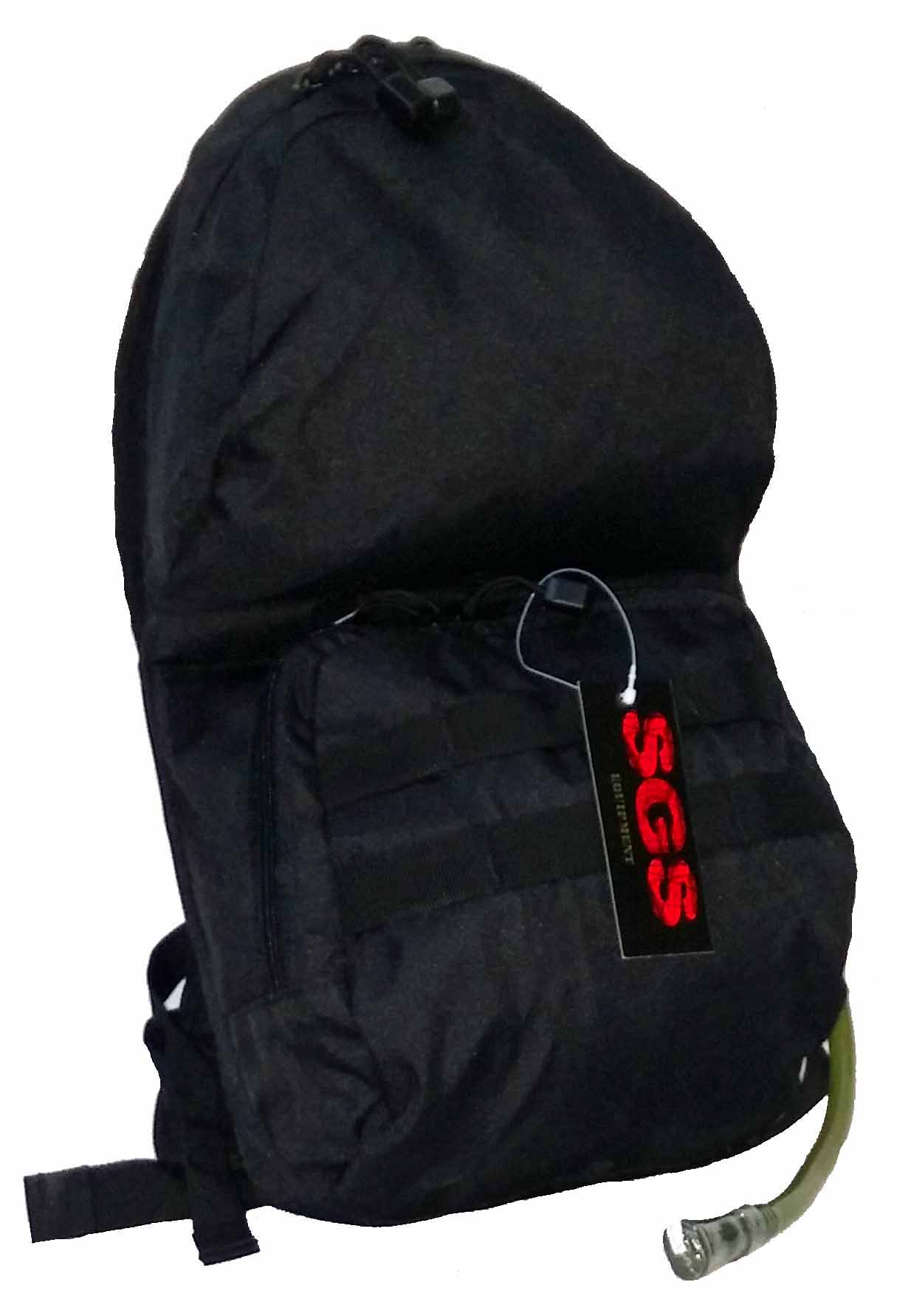 SGS Black hydratation pack