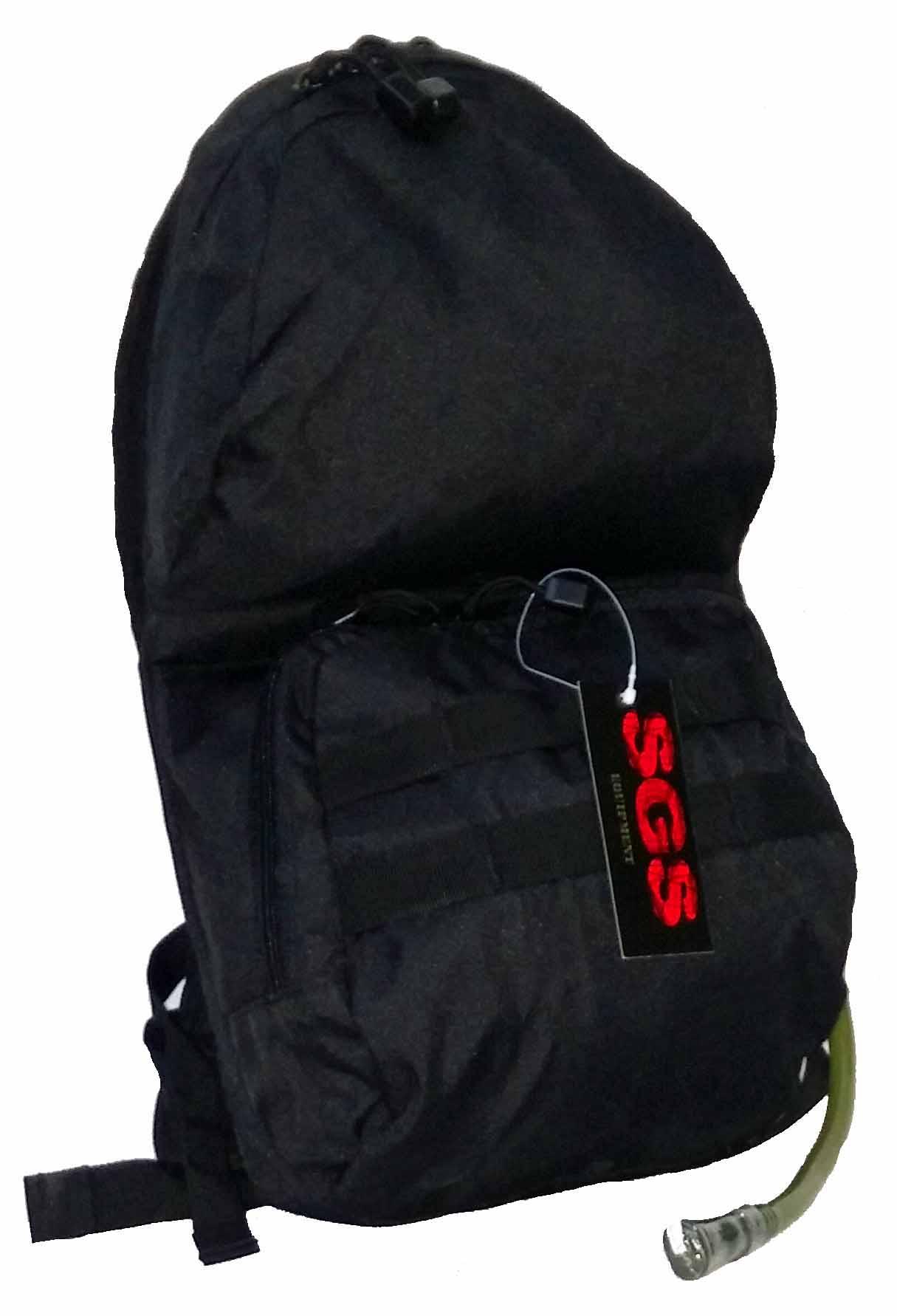 SGS Black hydratation pack