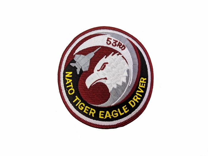 """""""NATO tiger eagle driver"""" patch"""