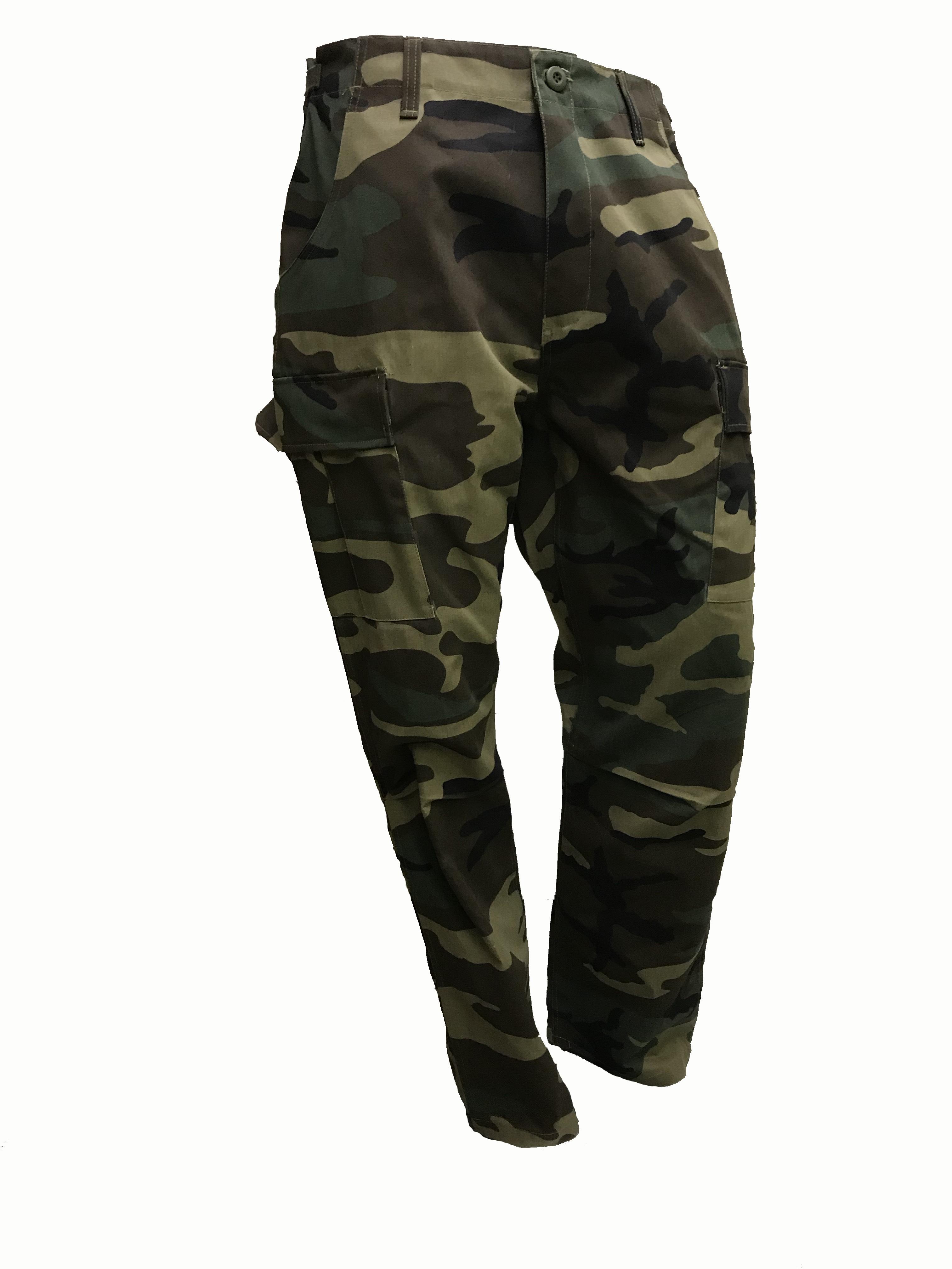 SGS Pantalon cargo Camouflage