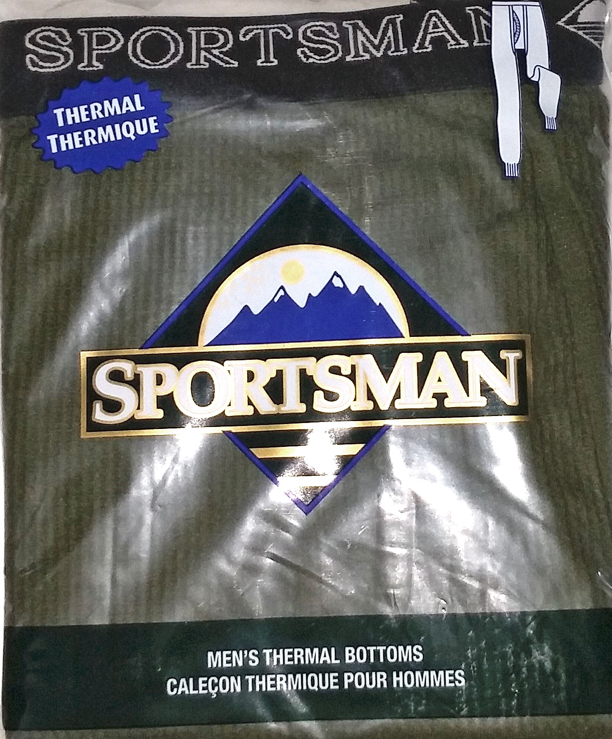 Men`s thermal bottoms