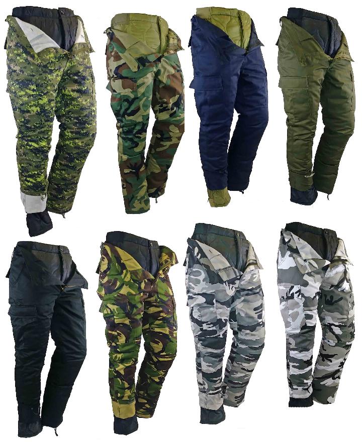 Pantalon de combat doublé