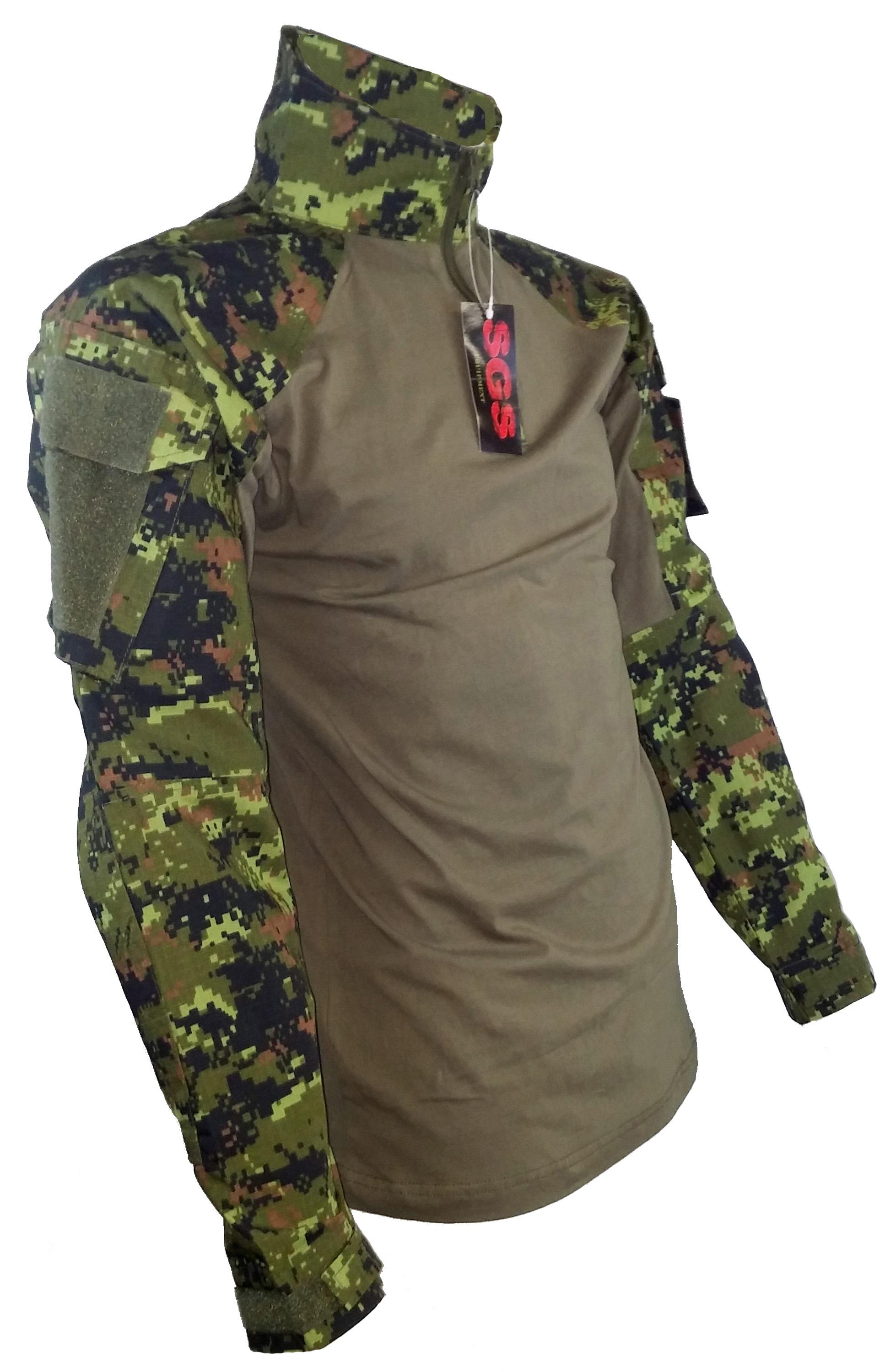 SGS Tactical sweater Canadian digital