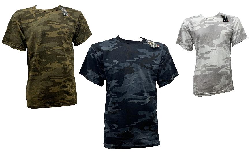 T-shirt camo Rothco