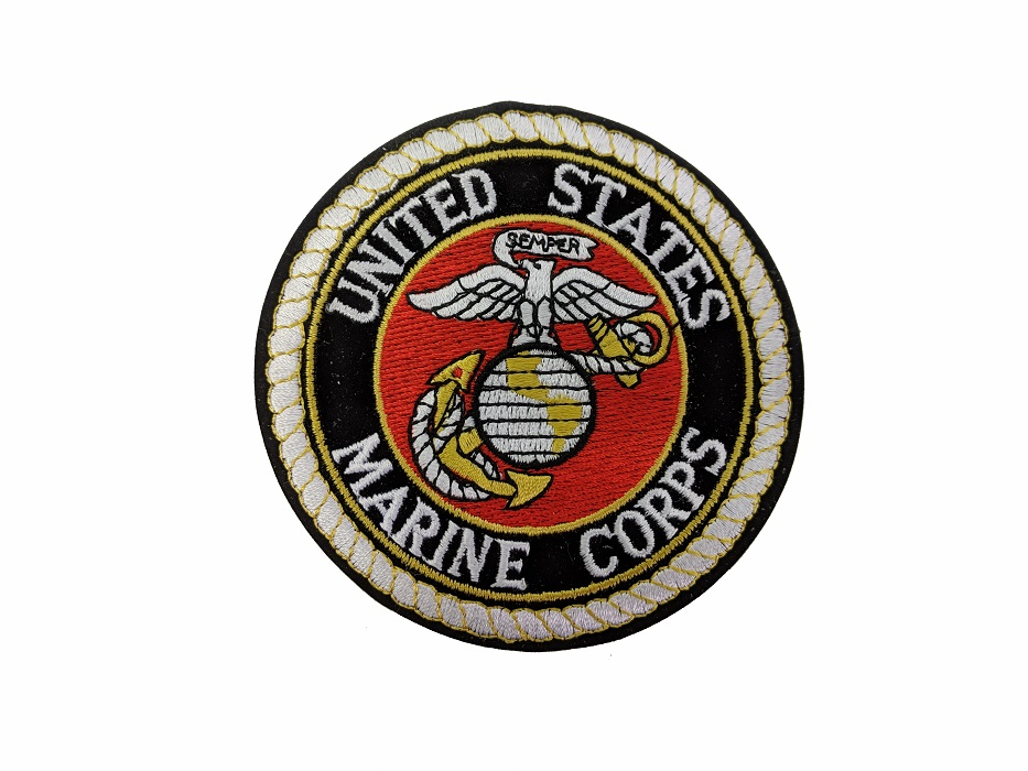 """Écusson """"Marine corps"""""""