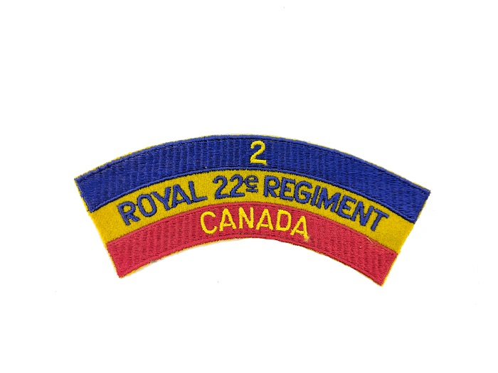 Royal 22nd regiment patch