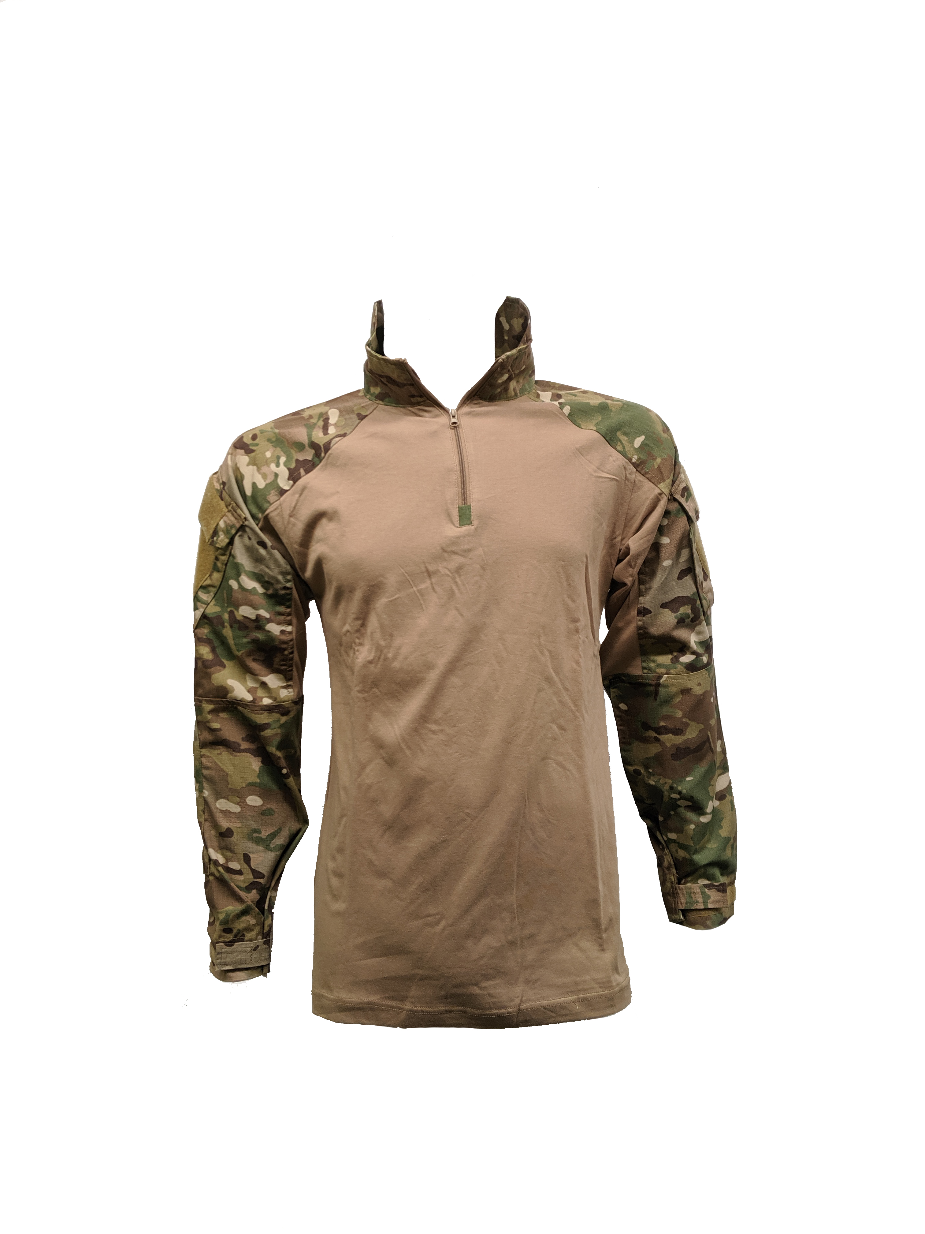 Tactical sweater SGS multicamo