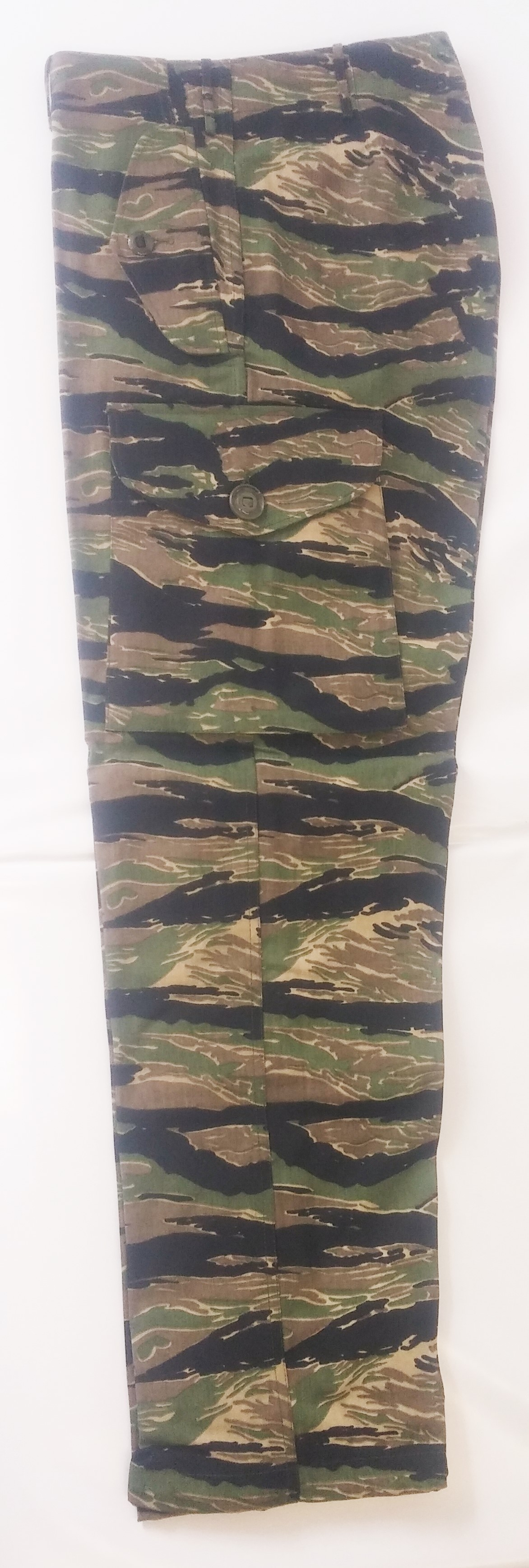 Tiger combat style camo