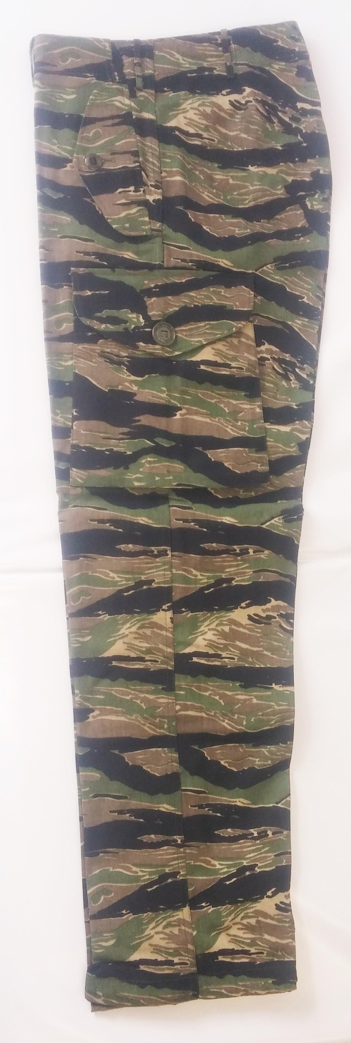 Pantalon camouflage tiger