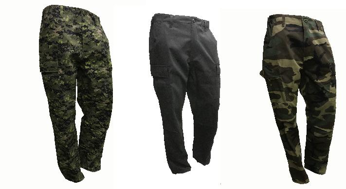 SGS Pantalon cargo Digital canadien