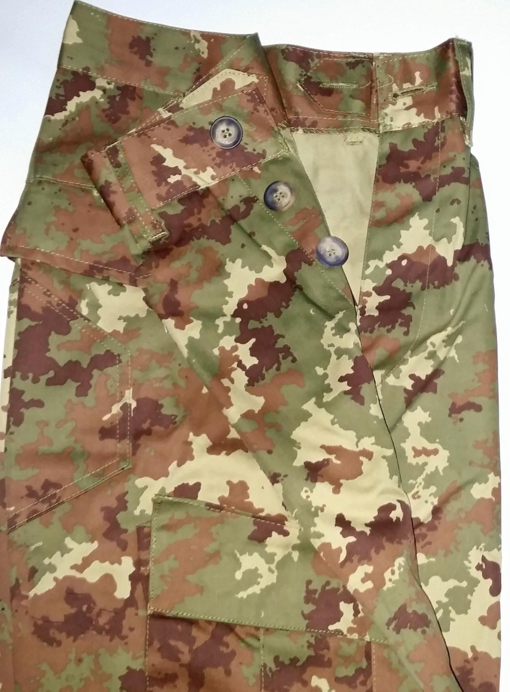 Pantalon camouflage Italien(boutons) **vente**