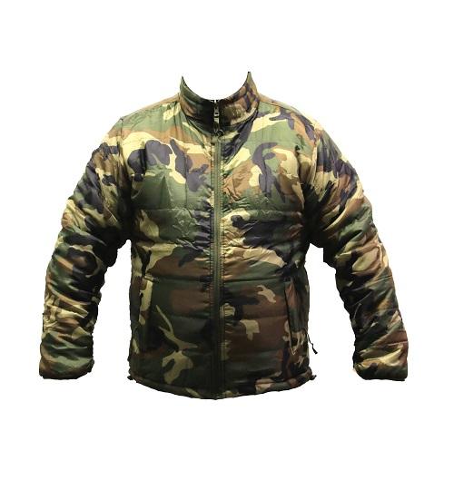 Reversible jacket / Woodland-Olive drab