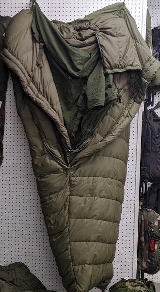 4 pieces arctic canadian sleeping bag
