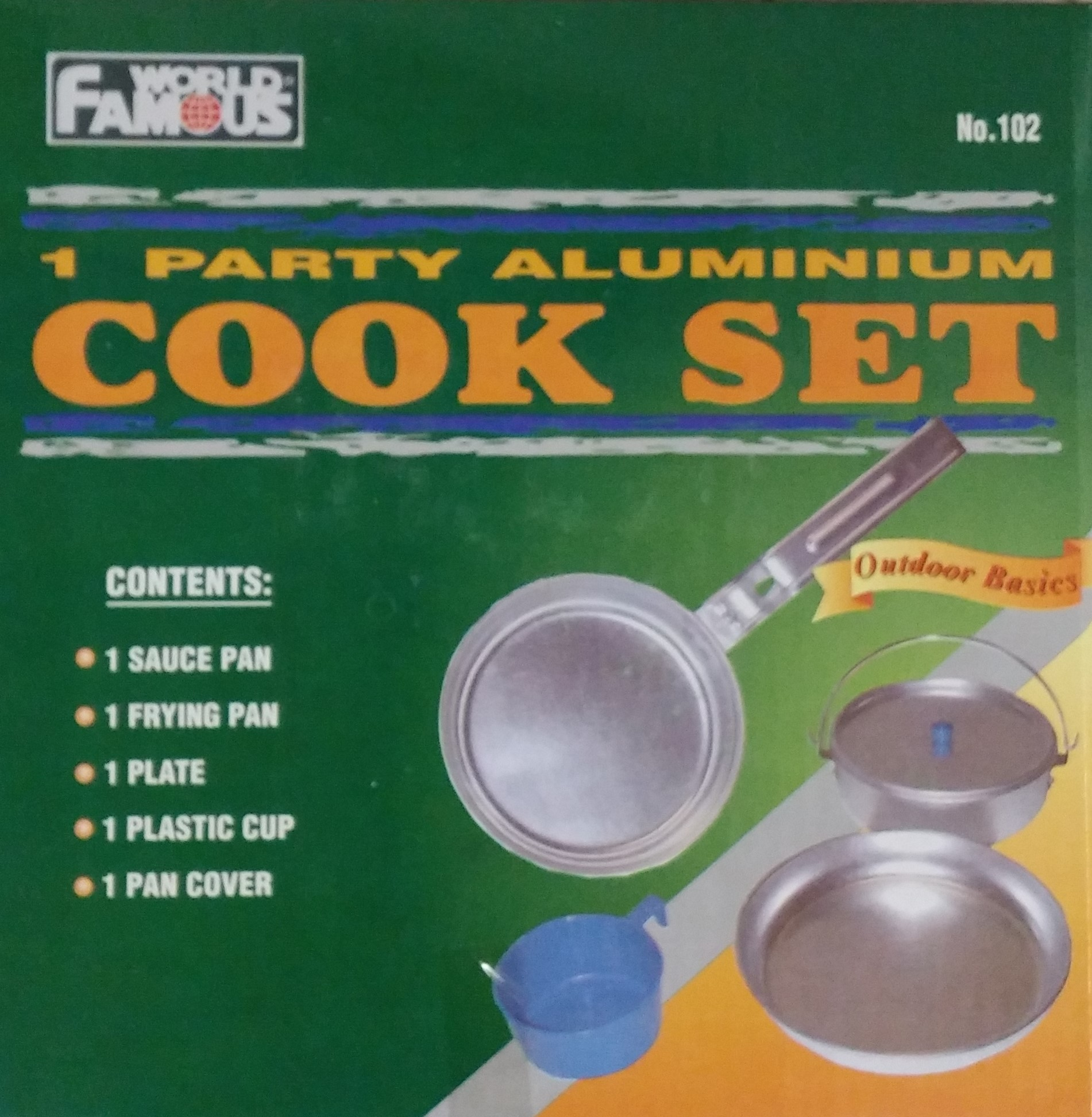 Aluminium mess kit
