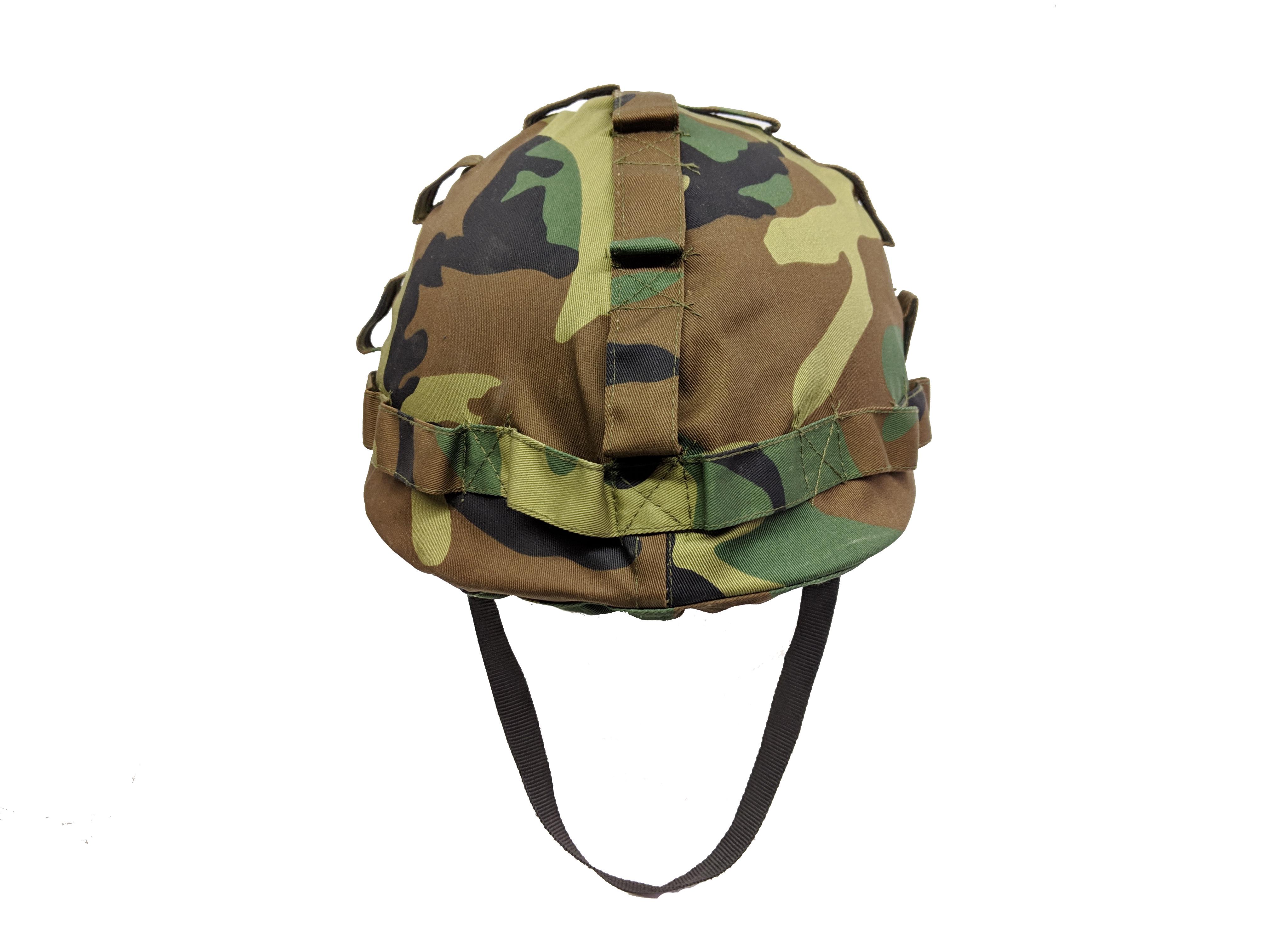 Woodland plastic helmet