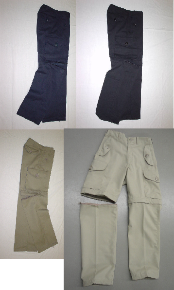 convertible combat style pant