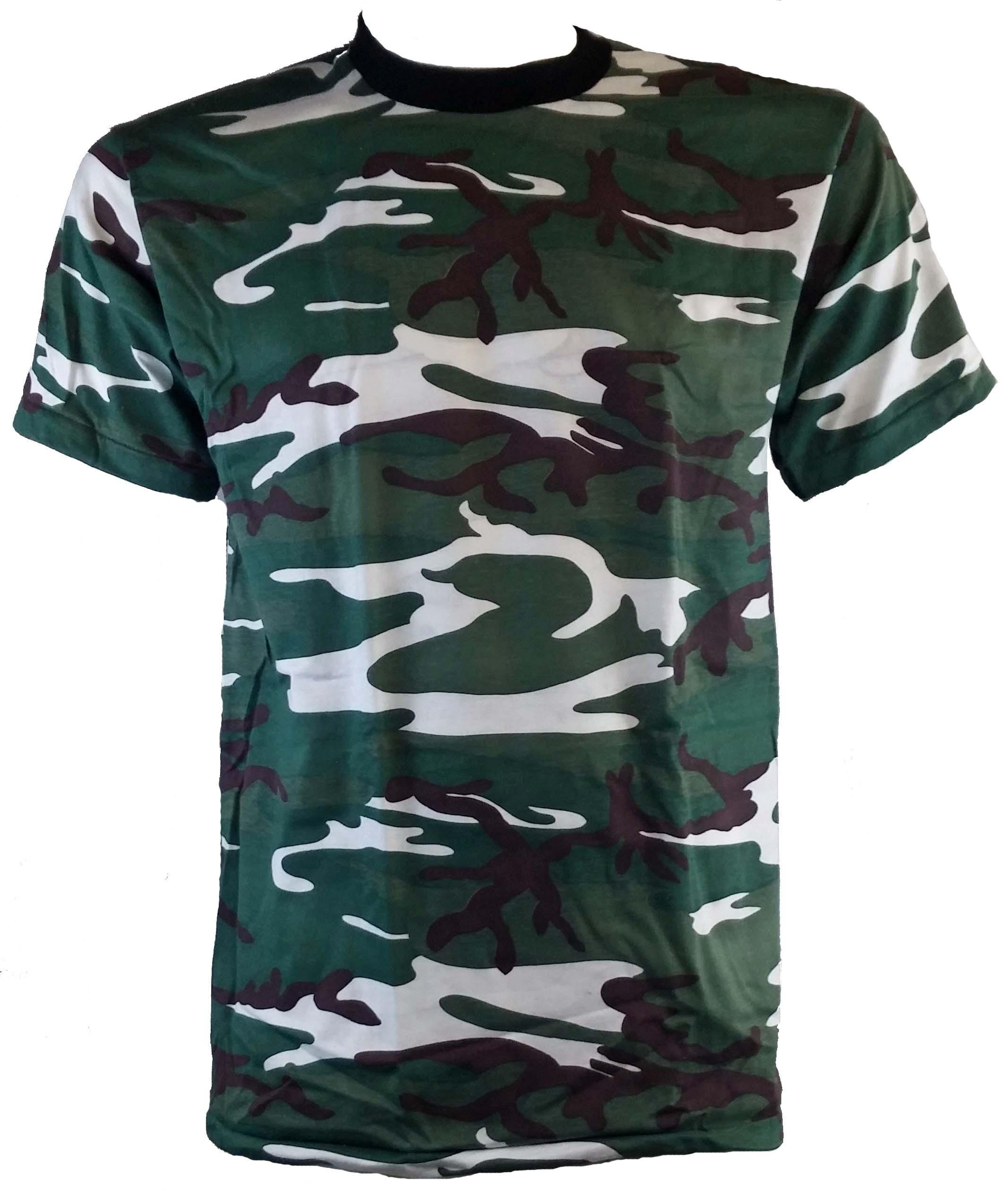 SGS t-shirt camo vert forêt ***en vente***